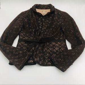 Anthropologie Elevenses blazer size 6